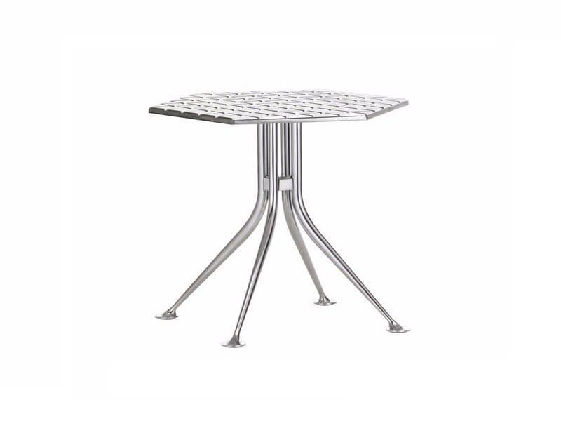 Hexagonal die cast aluminium coffee table HEXAGONAL TABLE by Vitra