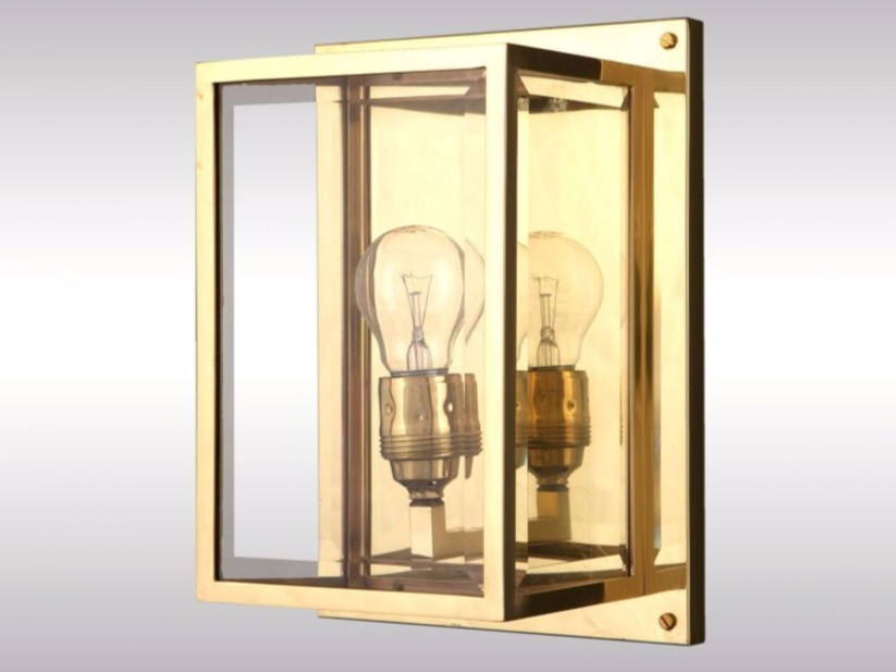 Brass wall lamp HH3-WL | Wall lamp - Woka Lamps Vienna