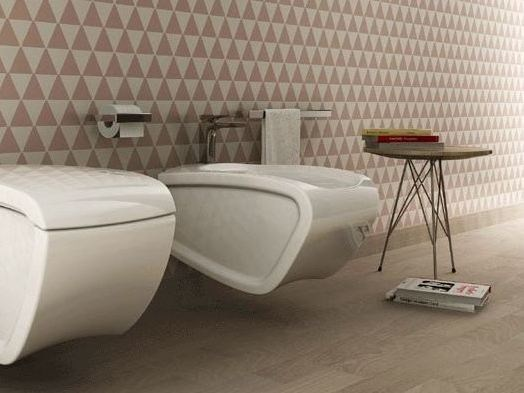 Ceramic bidet HI-LINE   Wall-hung bidet - Hidra Ceramica