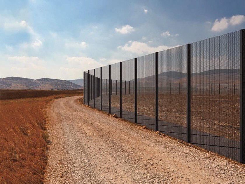 Modular electrically welded mesh Fence HIGH SECURITY FENCING by Gruppo CAVATORTA