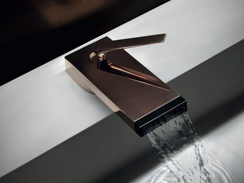 Copper colour countertop washbasin mixer HIM | Countertop washbasin mixer - ZUCCHETTI