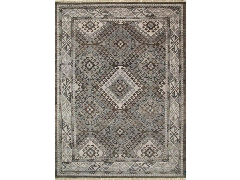 Wool rug HOBBS LCA-2353 Liquorice/Classic Gray by Jaipur Rugs