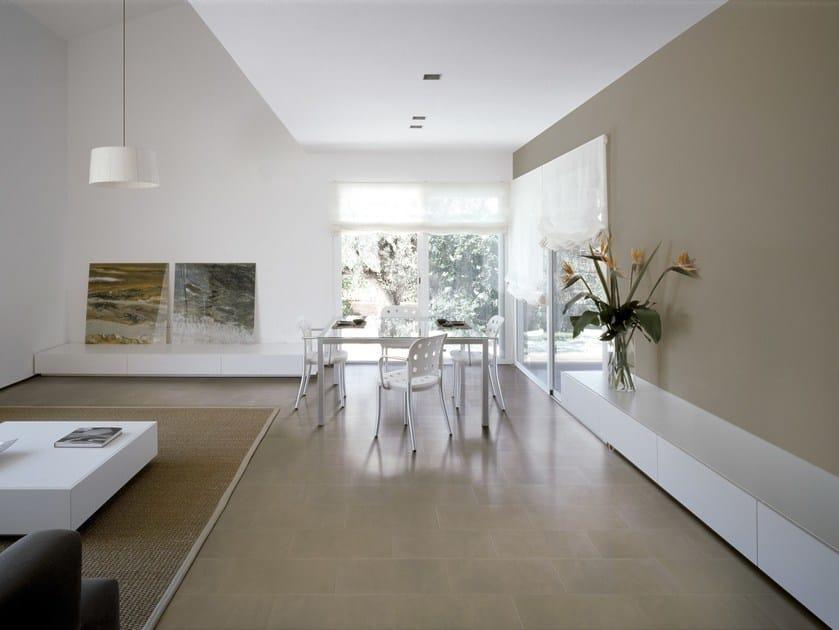 Full-body porcelain stoneware flooring HOME DESIGN | Flooring - Ceramica Cercom