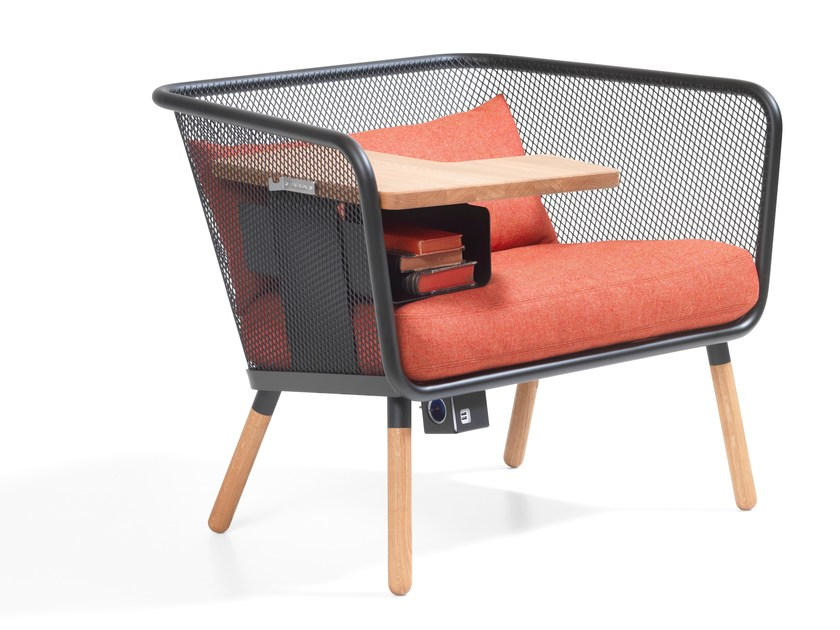Fabric small sofa HONKEN WORKSTATION | Fabric small sofa - Blå Station