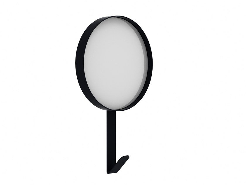 Round wall-mounted mirror HOOK by Universo Positivo