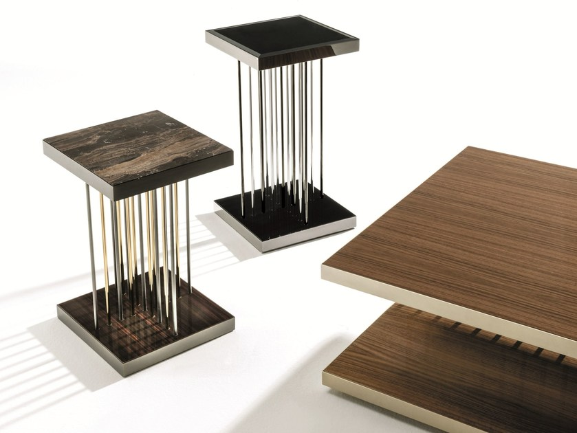 Square coffee table for living room HOPPER by Longhi