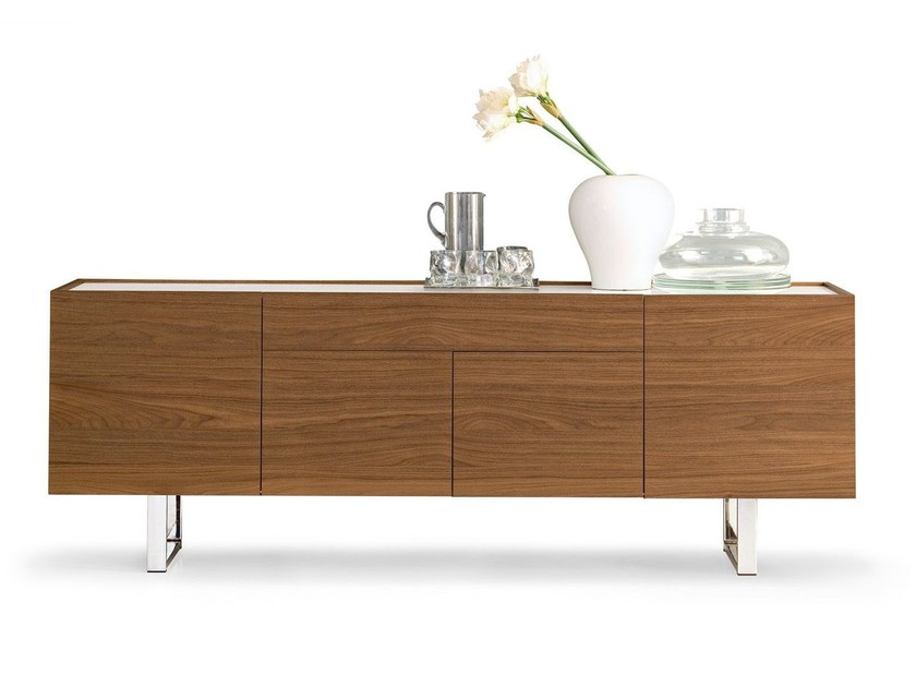 Sideboard with doors HORIZON | Sideboard by Calligaris
