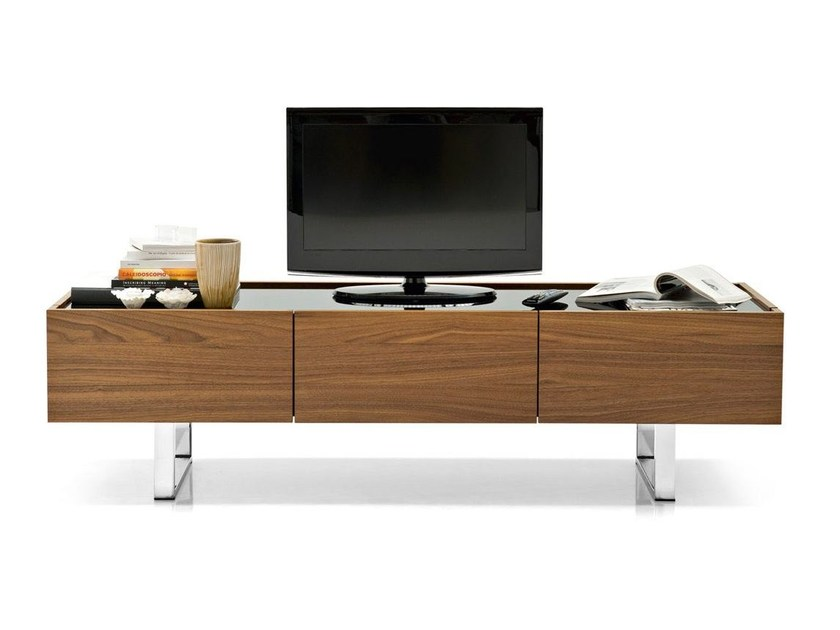 Mobile TV con cassetti HORIZON | Mobile TV - Calligaris
