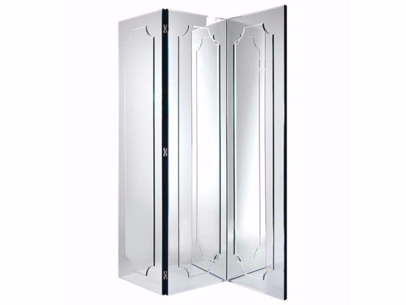 Mirrored glass mirror / screen HOWARD | Screen - Gianfranco Ferré Home
