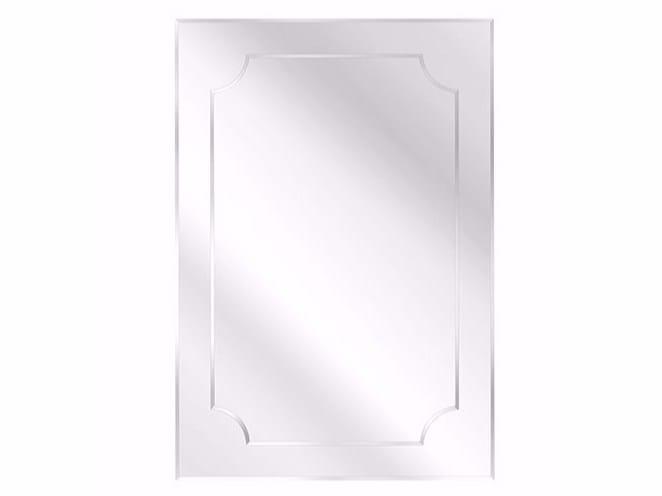 Rectangular wall-mounted mirror HOWARD | Rectangular mirror - Gianfranco Ferré Home