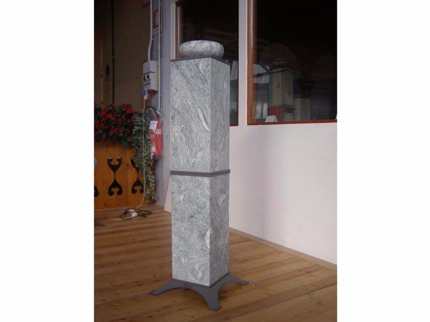 Natural stone Electric heater with essence evaporator HRS1200E | Electric heater - KarniaFire