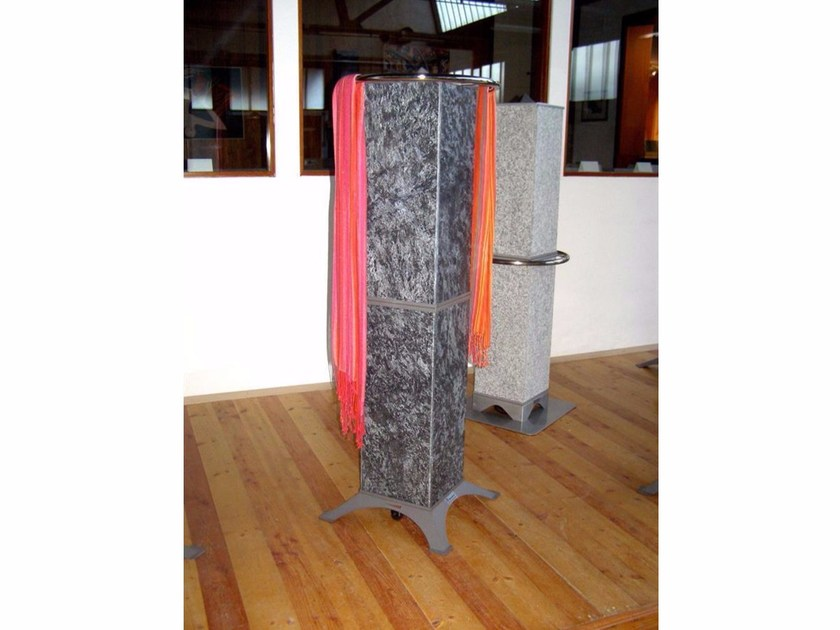 Natural stone Electric heater with towel rack HRS1200S2 | Electric heater - KarniaFire