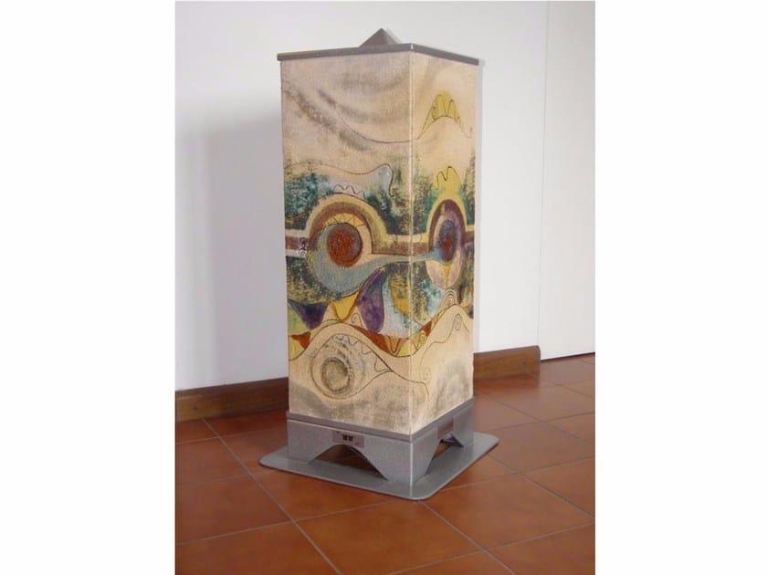 Stufa elettrica in terracotta ad accumulo HRSD600 | Stufa elettrica in terracotta - KarniaFire