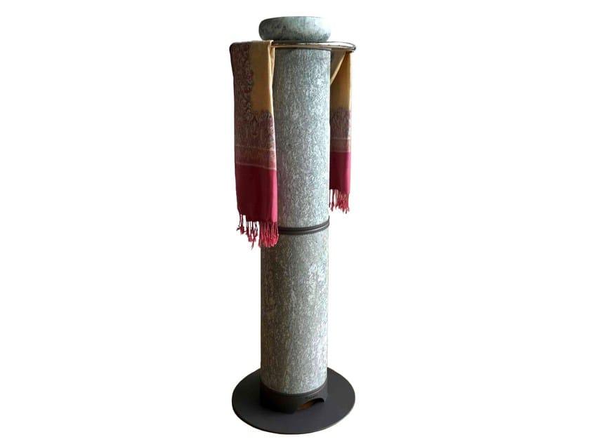 Stufa elettrica con diffusore portaessenze HRST1200S2E | Stufa elettrica in pietra naturale - KarniaFire
