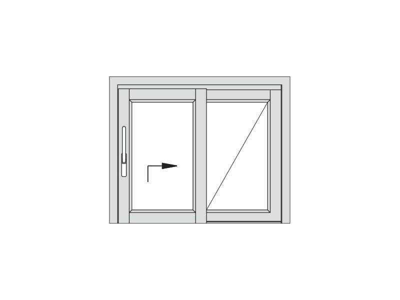 Porta scorrevole alzante scorrevole alzante hs alpilegno for Porte lift and slide
