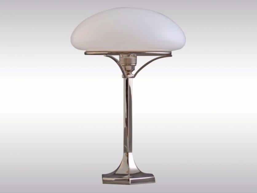 Opal glass table lamp HSP1 - Woka Lamps Vienna