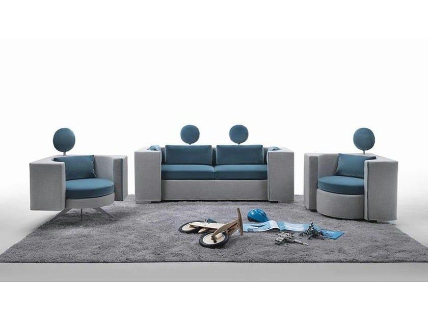 2 seater fabric sofa HUG | 2 seater sofa - Marac