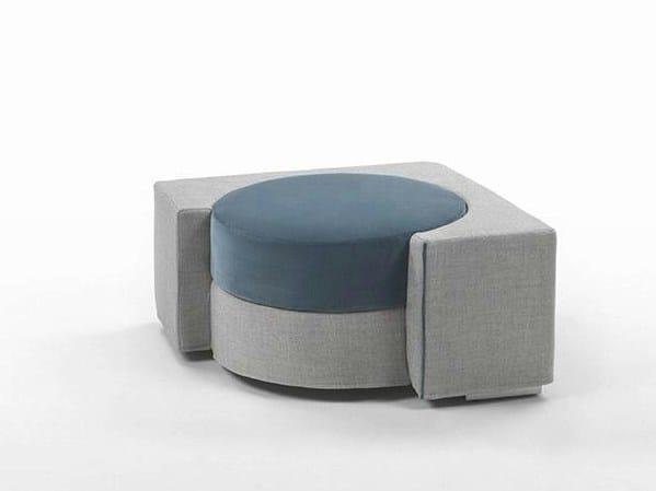 Fabric pouf / coffee table HUG | Fabric pouf by Marac