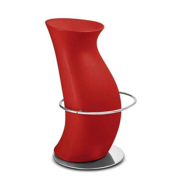 Polyethylene stool HULA OP | Barstool - IBEBI