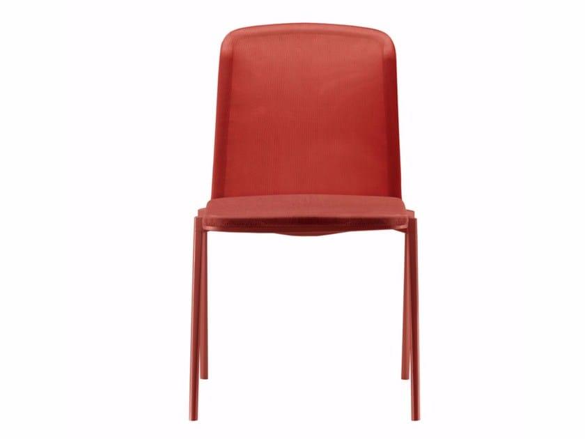 Polypropylene and aluminium stackable chair HYDROCHAIR - 461 - Alias