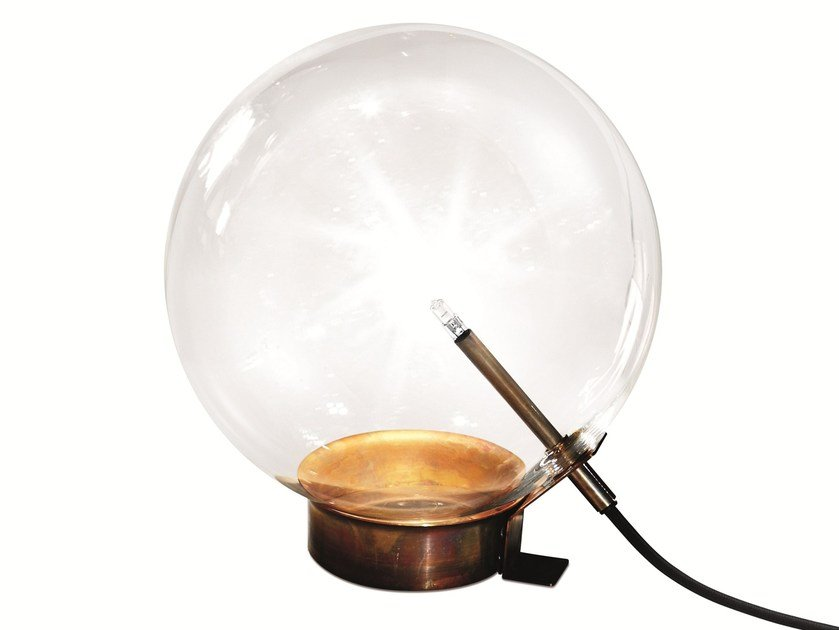 Halogen blown glass table lamp BOLLE 1 - Gallotti&Radice