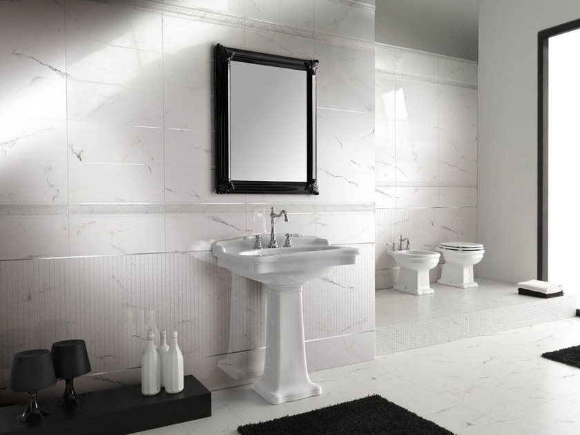 Wall/floor tiles with marble effect I TUOI MARMI - CERAMICHE BRENNERO