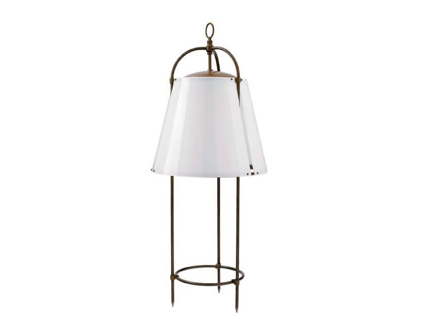 Brass Floor lamp IBISCUS - Aldo Bernardi