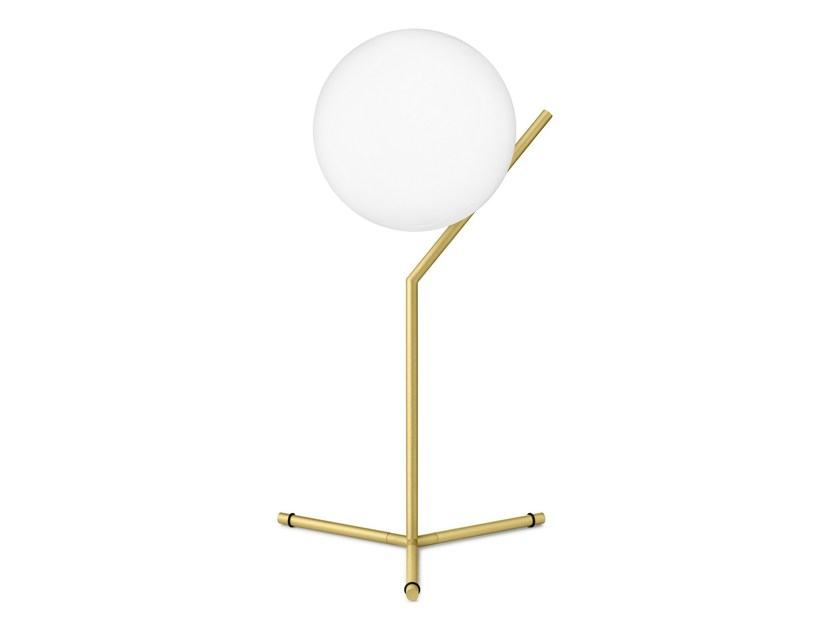 Brass table lamp IC LIGHTS T1 - FLOS