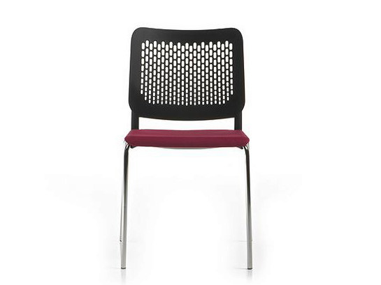 Polypropylene chair / training chair ICE | Reception chair - D.M.