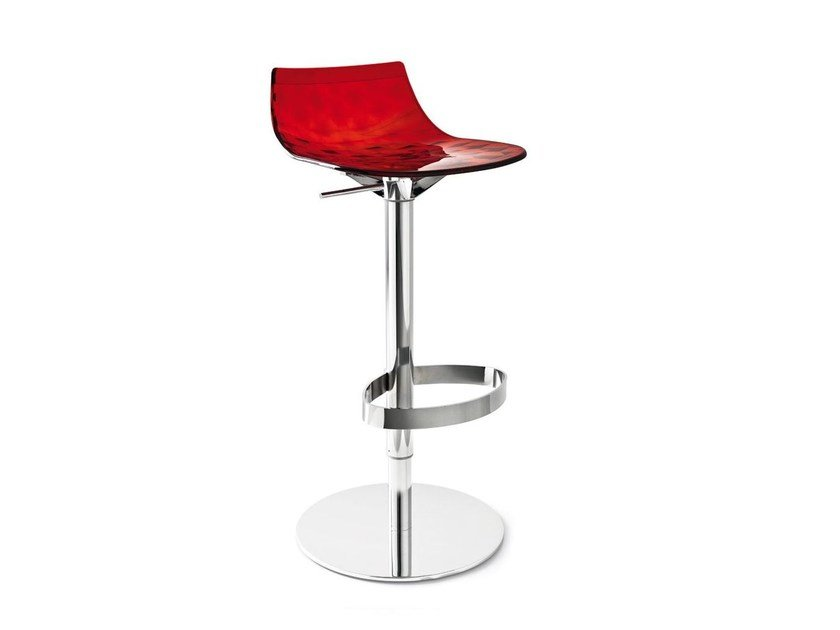 Stool with gas lift ICE | Swivel stool - Calligaris