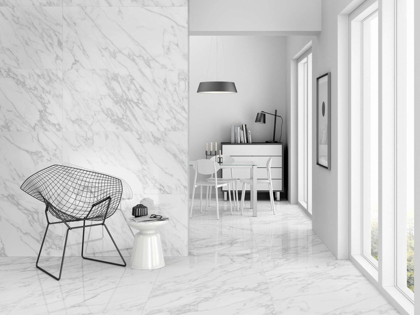 Porcelain stoneware wall tiles / flooring ICELAND by Museum