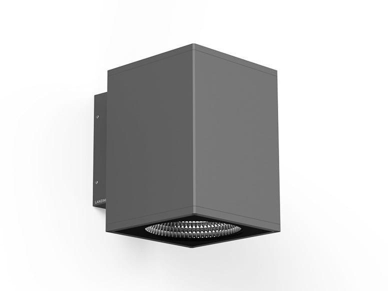 LED direct light wall light ICON Q by LANZINI