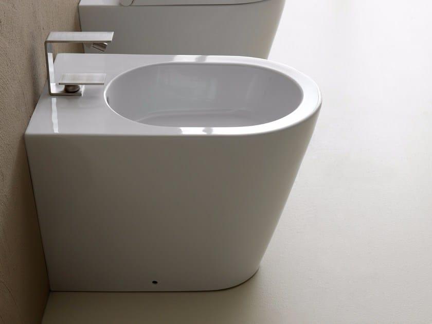 Ceramic bidet ICON ROUND | Bidet - Alice Ceramica