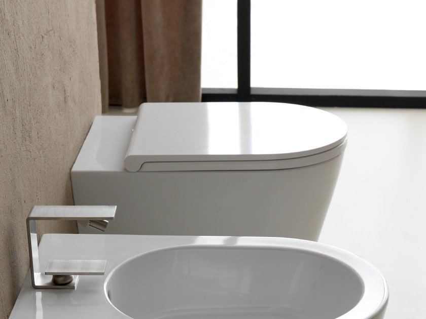 Ceramic toilet ICON ROUND | Toilet - Alice Ceramica