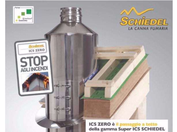Stainless steel flue ICS ZERO - Schiedel
