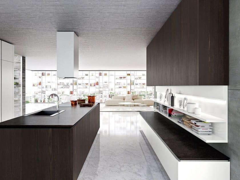 IDEA Cocina con isla by Snaidero diseño Pininfarina