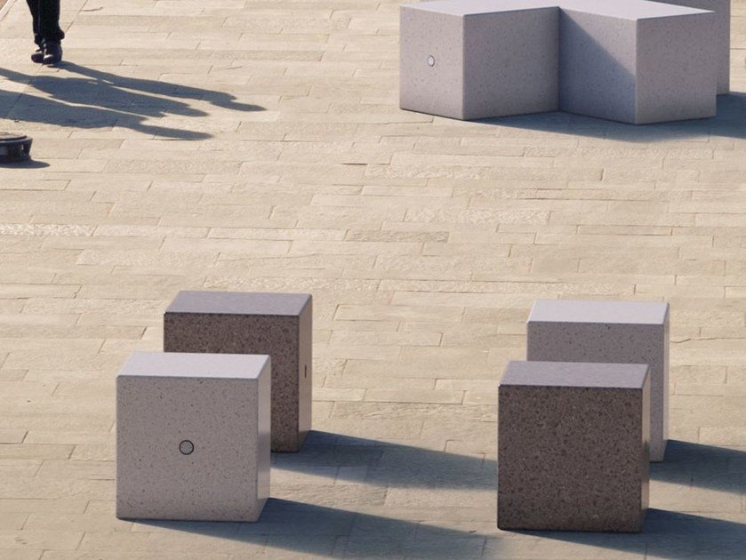 Sectional Modular backless Bench LABYRINTH | IDRA by Bellitalia