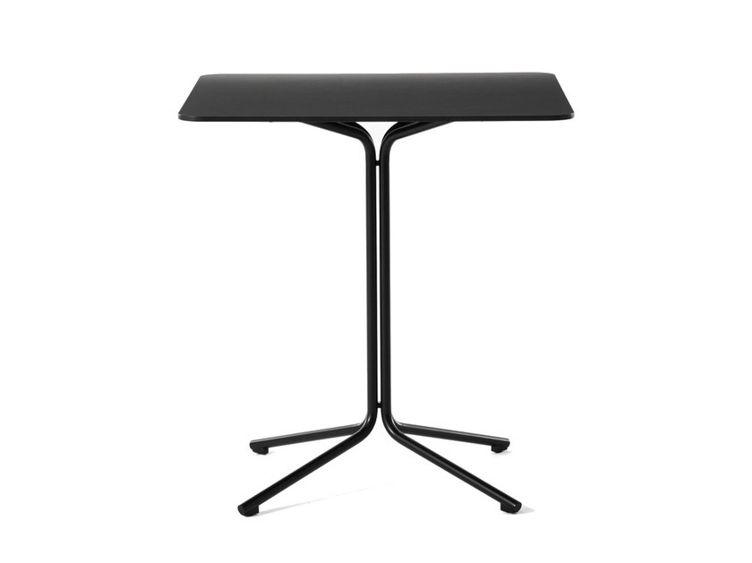 Square steel table IKE | Table - Desalto
