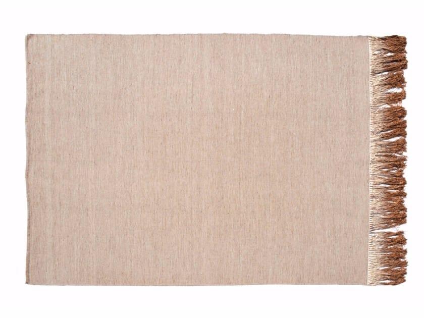 Tappeto fatto a mano rettangolare in lana ILLUSION | Tappeto - ROCHE BOBOIS