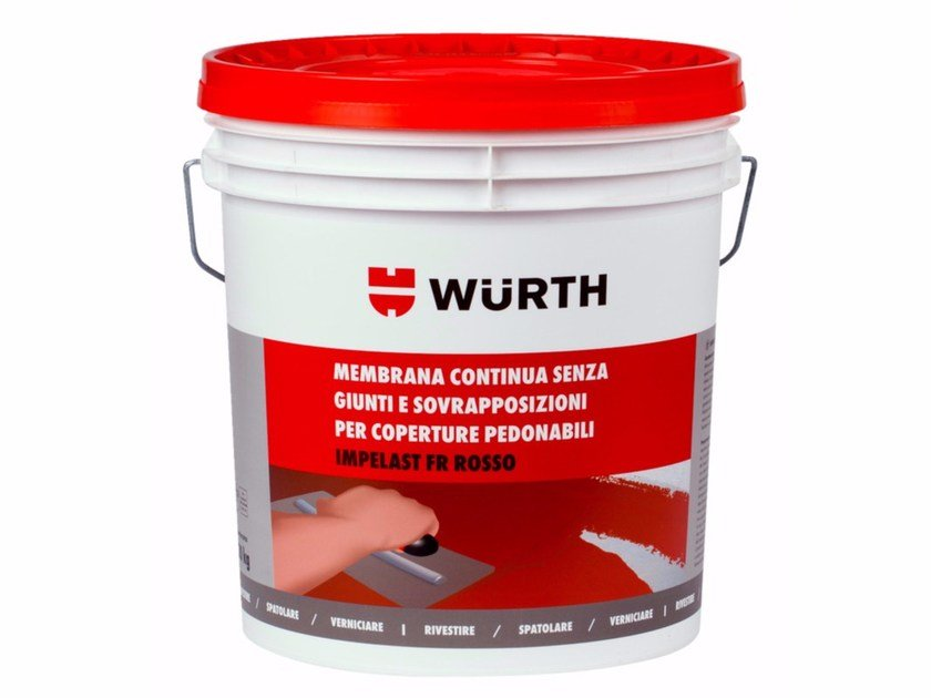 Additive and resin for waterproofing IMPELAST FR - Würth