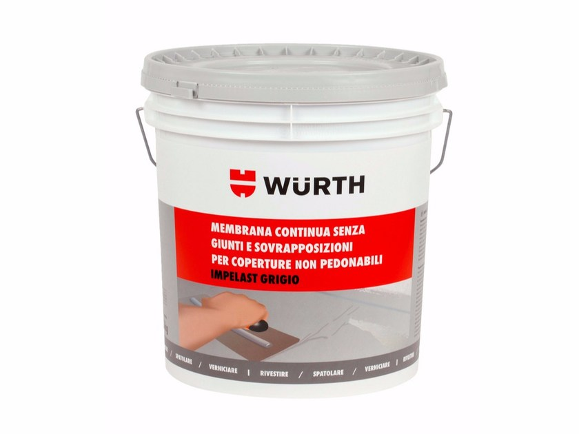Additive and resin for waterproofing IMPELAST - Würth