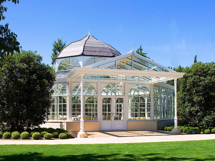 Glass and aluminium Winter garden IMPERIAL & TOSCANA by Keller