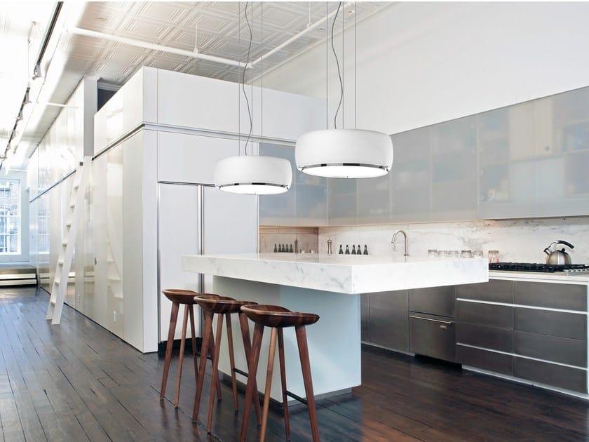Blown glass pendant lamp INARI   Pendant lamp - BOVER Il. Luminació & Mobiliario