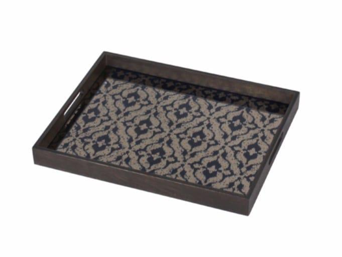 Rectangular tray INDIGO IKAT - Notre Monde