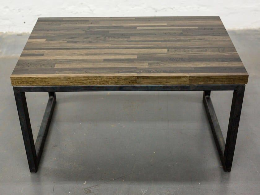 Sled base bog oak coffee table INDUSTRIAL | Sled base coffee table by EDWOOD