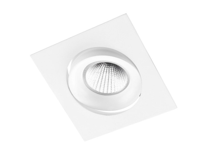 Faretto a LED quadrato in alluminio da incasso INEL C - LED BCN Lighting Solutions