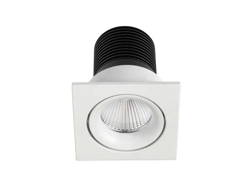 Faretto a LED quadrato in alluminio da incasso INEL C MINI - LED BCN Lighting Solutions