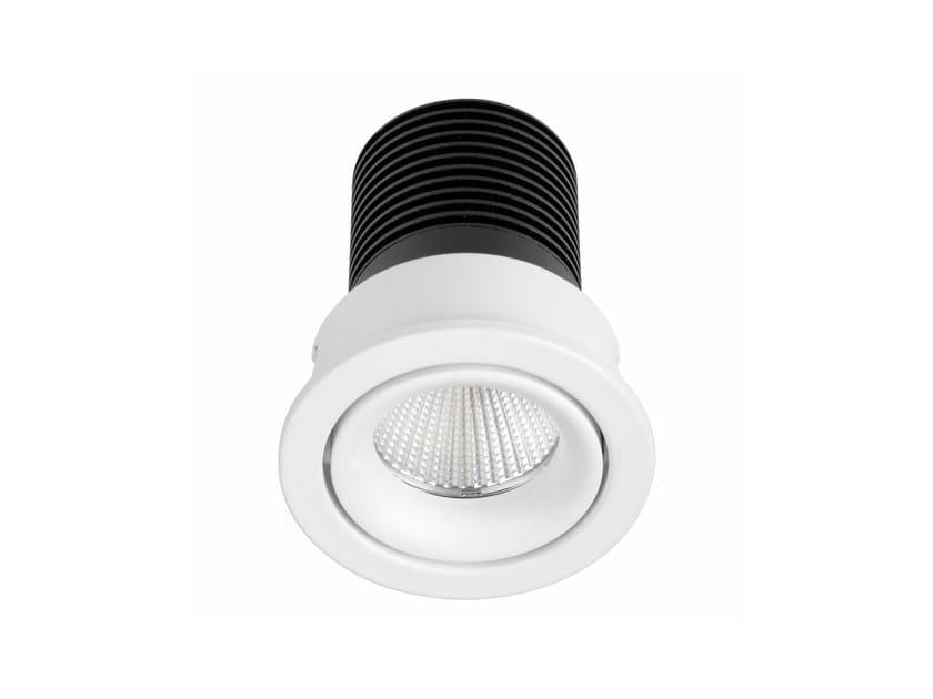Faretto a LED in alluminio da incasso INEL MINI - LED BCN Lighting Solutions