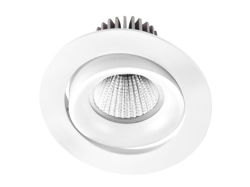Faretto a LED in alluminio da incasso INEL XL - LED BCN Lighting Solutions