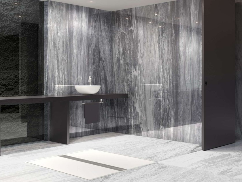 Wall/floor tiles with marble effect INFINITE REVERSO - Museum
